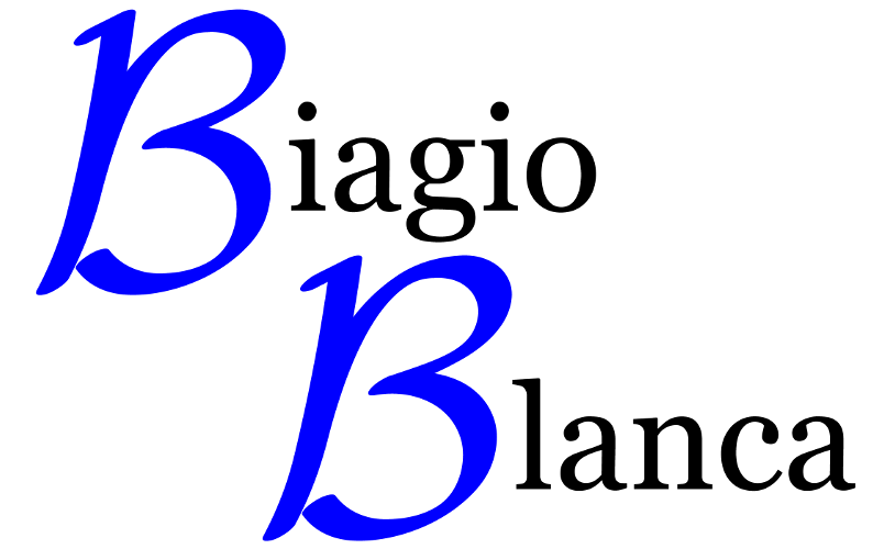 Logo of the website Biagio Blanca