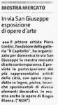 Giornale di Sicilia - 20/08/2009 - ARTICOLO: Mostra mercato (Market exhibition)